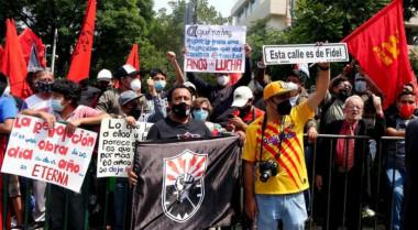 Mexicanos en solidaridad con Cuba