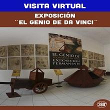 Visita Virtual Exposición El Genio de Da Vinci