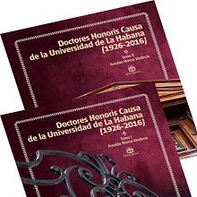 Doctores Honoris Causa de la Universidad de La Habana (1926-2016)